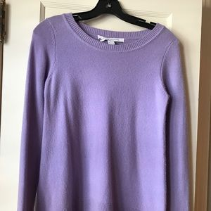 DVF Cashmere Swing Sweater